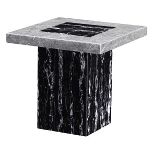 Lotus Marble Lamp Table