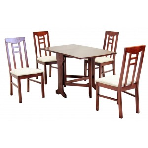 Liverpool Dining Set Mahogany