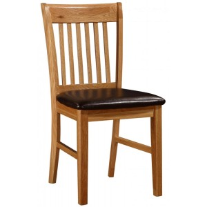 Lincoln Chair Solid Oak...