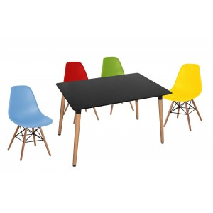 Lilly Rectangle Table Black