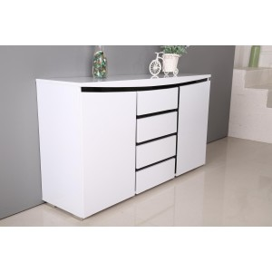 Leona High Gloss Side Board...