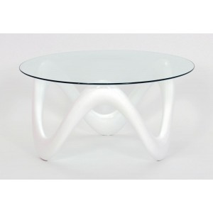 Lamar Coffee Table White