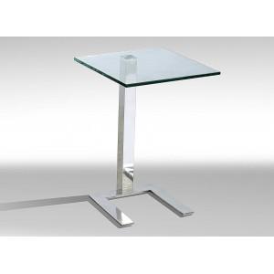 Kia Lamp Table Clear Glass...