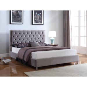 Izabel Velvet King Size Bed...