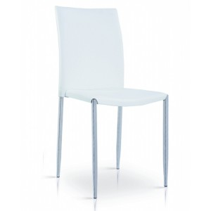 Iris PU Chair White &...