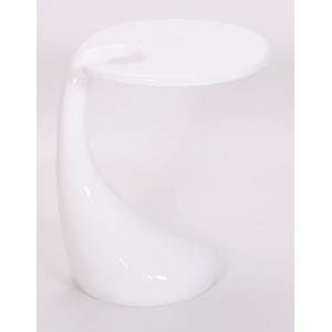 Houston Lamp Table White