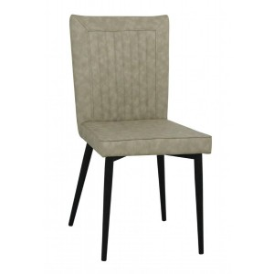 Hoskin PU Chair Taupe &...