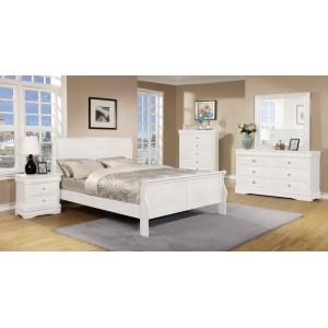 Horizon Double Bed White