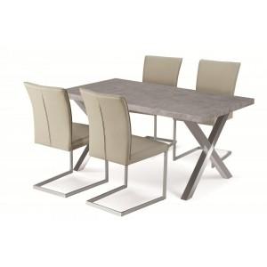 Helix PU Chairs Beige &...