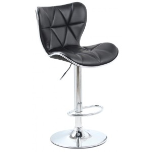 Harlow Bar Stool PU Chrome...