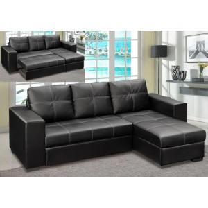 Gianni Storage Chaise Sofa...