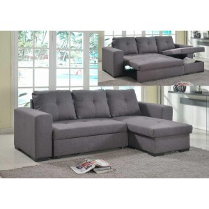Gianni Storage Chaise Sofa...