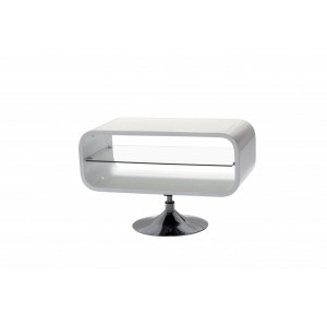 Garfield TV Unit White