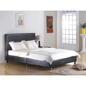 Fusion PU Single Bed White