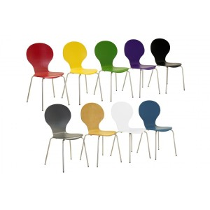 Fiji Round Chairs Black (4s)