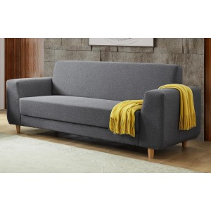 Fida Fabric 3 Seater Sofa...
