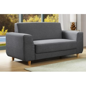 Fida Fabric 2 Seater Sofa...