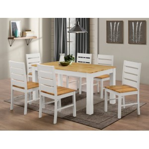 Fairmont White Dining Set...