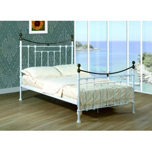 Elizabeth Double Bed White...