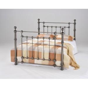 Elanor Black Nickel Double Bed