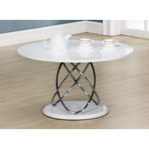 Eclipse White High Gloss Coffee Table