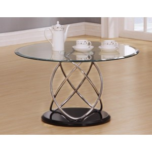 Eclipse Clear Coffee Table