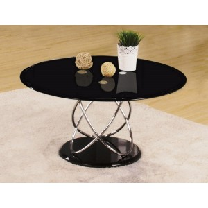 Eclipse Black Coffee Table