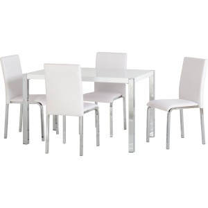 Gamma Dining Table White...