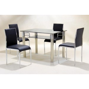 Vercelli PU Chair White (4s)