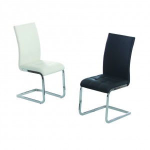 Union PU Dining Chair White...