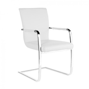 Una PU Arm Chairs Chrome &...