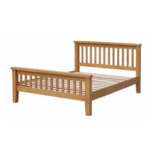 Acorn Solid Oak Bed High...