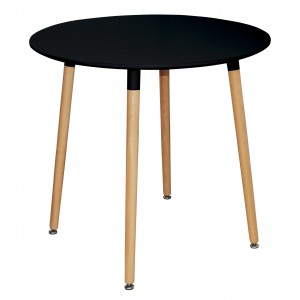 Lilly Round Table Black