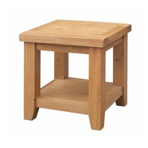 Acorn Solid Oak Lamp Table