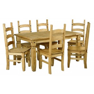 Corona Dining Set with 6...