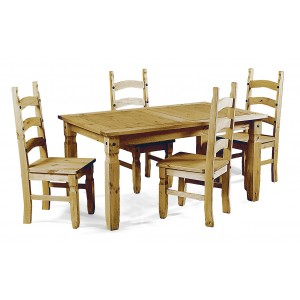 Corona Dining Set with 4...