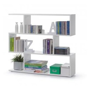 Arctic Bookcase Wide White...