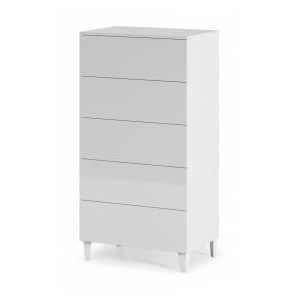 Arctic Chest 5 Drawer White...