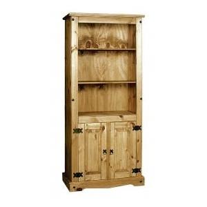 Corona Bookcase with Doors
