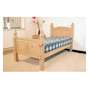 Corona Bed Single High Footend