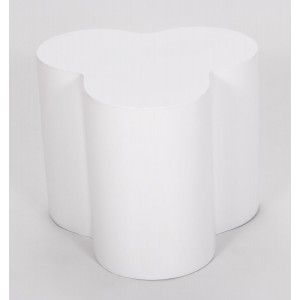 Colbert Lamp Table White