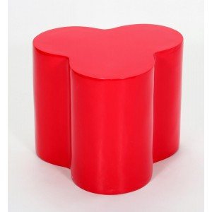 Colbert Lamp Table Red