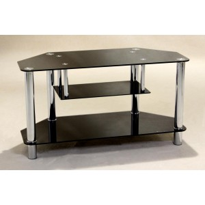 Clio TV Unit Corner Black