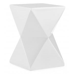 Nomad Lamp Table White
