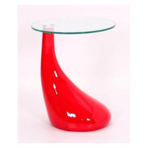 Chilton Lamp Table Red