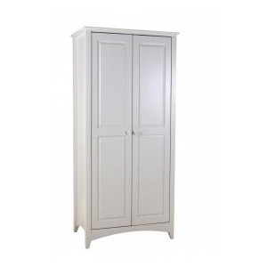 Chelsea White Wardrobe 2 Door