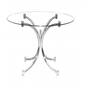 Orkney Dining Table Chrome
