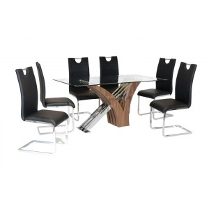 Caspian Glass Dining Table...
