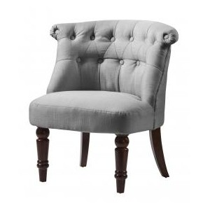 Alderwood Fabric Chair Grey...