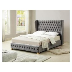 Anderton Velvet Double Bed...